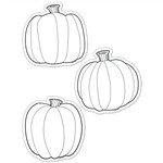 Shop Color Me Pumpkins 6In Designer Cut Outs - Ctp5849 By Creative Teaching Press