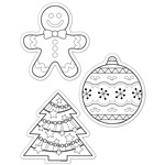 Shop Color Me Holiday 6In Designer Cut Outs - Ctp5850 By Creative Teaching Press