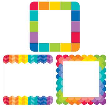 "Rainbow Cards 6"" Cut Outs Painted Palette, CTP5890"