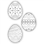 Shop Color Me Eggs 6In Designer Cut Outs - Ctp5899 By Creative Teaching Press