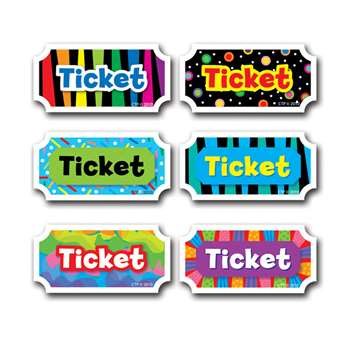 Tickets By Creative Teaching Press
