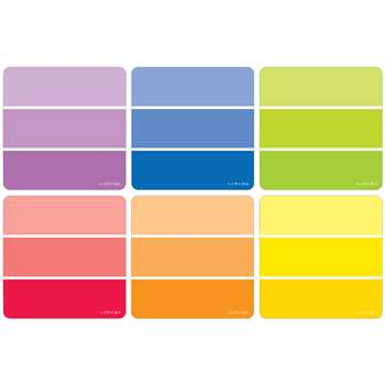"Paint Chips 6"" Cut Outs Painted Palette, CTP5959"