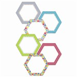 Shop Hexagons 10In Designer Cut Outs - Ctp5969 By Creative Teaching Press