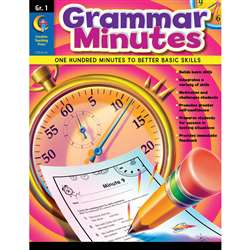 Grammar Minutes Gr 1 By Creative Teaching Press