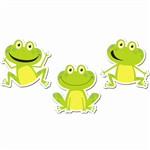 Frogs 6In Designer Cut Outs By Creative Teaching Press