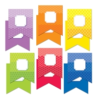 "Painted Palette Pennants 6"" Designer Cut Outs, CTP6492"