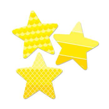 "Stars 6"" Designer Cut Outs - Paint, CTP6495"