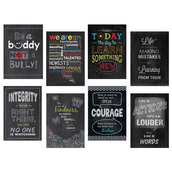 Inspire U Posters Set Of 8, CTP6686
