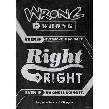 Wrong Is Wrong Even If Poster, CTP6697