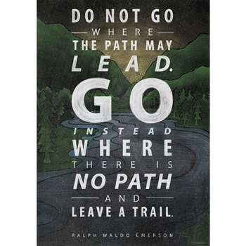 Do Not Go Where The Path Poster, CTP6698