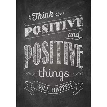 Think Positive And Positive Poster, CTP6700
