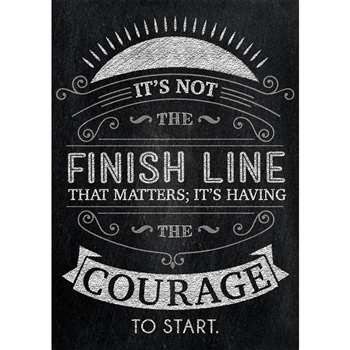 Its Not The Finish Line Poster, CTP6746