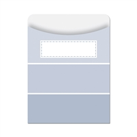 Slate Gray Paint Chip Library Pockets - Paint, CTP6790