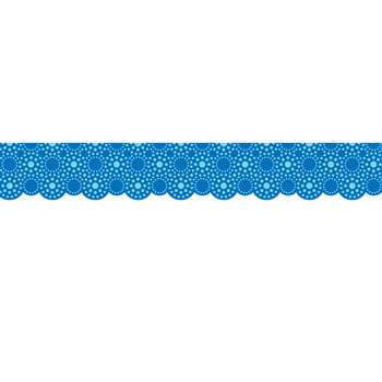 Lots Of Dots Blue Shaped Borders By Creative Teaching Press