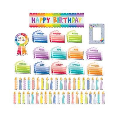 Happy Birthday Mini Bb Set - Paint, CTP6950