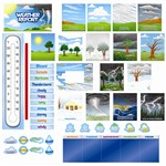 Shop Weather Report Mini Bulletin Board - Ctp6955 By Creative Teaching Press