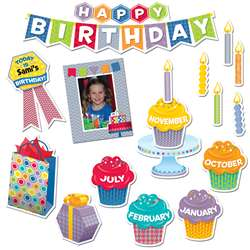 Shop Happy Birthday Mini Bulletin Board - Ctp6958 By Creative Teaching Press