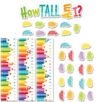 Painted Palette Growth Chart Mini Bb Set, CTP6979