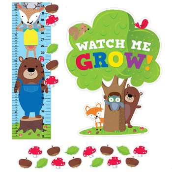 Woodland Friends Growth Chart, CTP6992