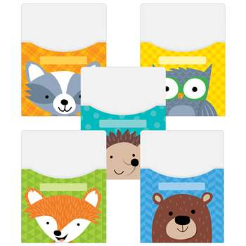 Woodland Friends Library Pockets 9X12, CTP6997