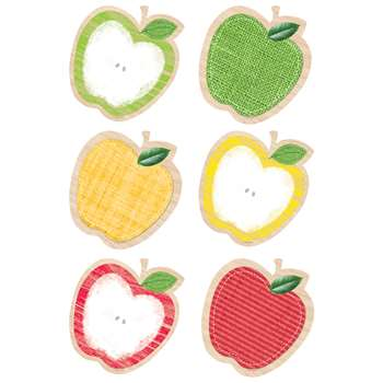 "Apples 10"" Cut Outs Upcycle Style, CTP7046"