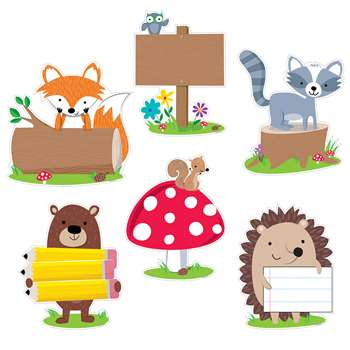 "Woodland Friends 10"" Cut Outs, CTP7048"