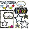 Shining Stars Bulletin Board Set By Creative Teaching Press