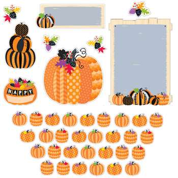 Pumpkin Patch Bulletin Board St, CTP7070