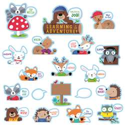Woodland Friends Peek Overs Bulletin Board St, CTP7071