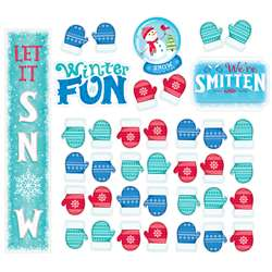 Snow Much Fun Bulletin Board St, CTP7072