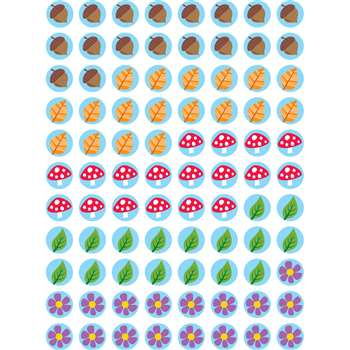 Hot Spots Woodland Friends Stickers, CTP7109