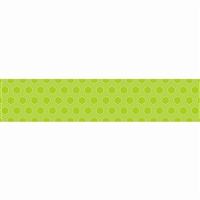 Lime Green Mini Hexagons Border, CTP7115