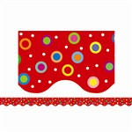 Dots On Red Wavy Border By Creative Teaching Press