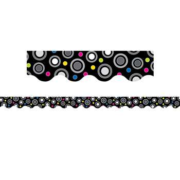 Polka Dot Party Wavy Border By Creative Teaching Press