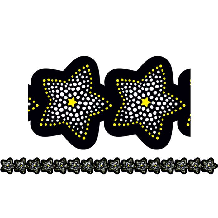 Sparkling Stars Border By Creative Teaching Press