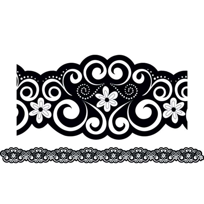 Classic Curls Border By Creative Teaching Press