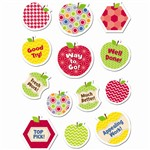 Shop Hexafun Apples Stickers - Ctp7152 By Creative Teaching Press