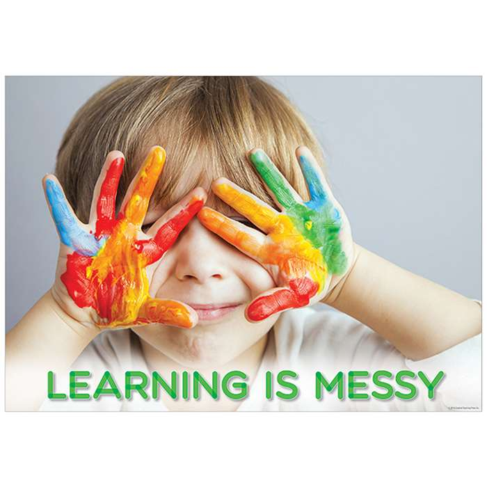 Learning Is Messy Poster, CTP7263
