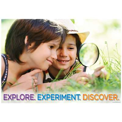 Explore Experiment Discover Poster, CTP7266