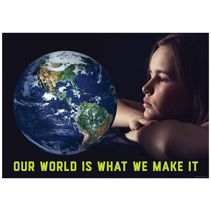 Our World Is What We Make It Poster, CTP7269