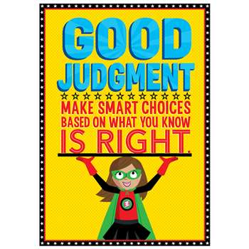 Good Judgement Superhero Poster Inspire U, CTP7276