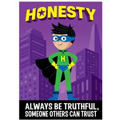 Honesty Superhero Inspire U Poster, CTP7277