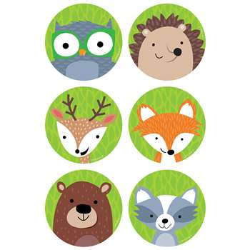 "Woodland Friends 3"" Cutouts, CTP8082"