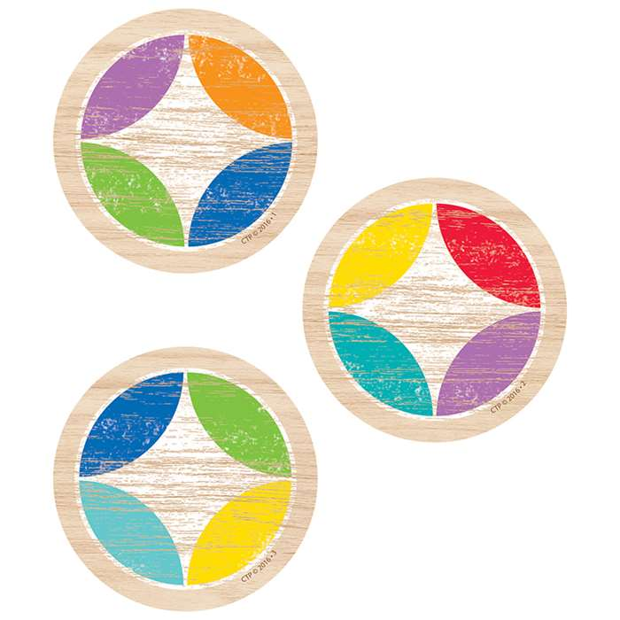 "Upcycle Style Medallion 3"" Cutouts, CTP8086"