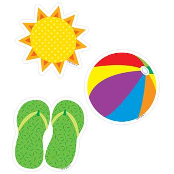 "Summer Fun 3"" Designer Cutouts, CTP8088"