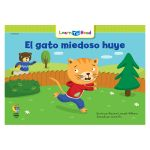 El Gato Miedoso Huye - Scaredy Cat Runs Away, CTP8272
