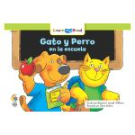 Gato Y Perro En La Escuela - Cat And Dog At School, CTP8285