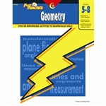Power Practice Geometry Gr 5-8 By Creative Teaching Press