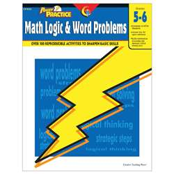 Math Logic & Word Problems Grade 5-6 By Creative Teaching Press