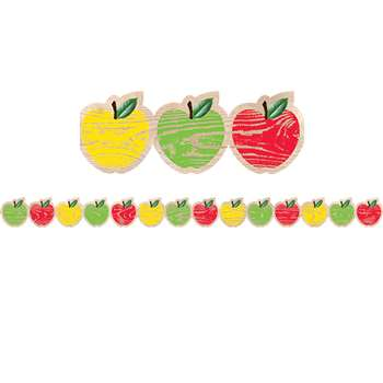 Apples Border Upcycle Style, CTP8381